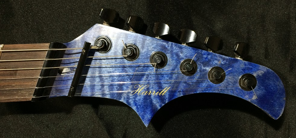Tiger by Harrill Guitars.
